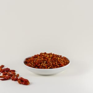 Birds Eye Bio Chiliflocken kaufen. Vogelaugen Chili kaufen. Bio Birds Eye Chili