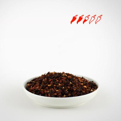 Chipotle kaufen geräucherte Jalapeños Chipotle Chili Flocken kaufen in Keramikmühlen und Aromaschutzbeutel