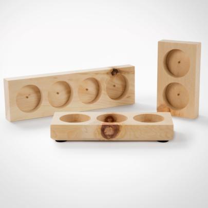 Zirbenboard 2/3/4 - für Design Premium Mühlen