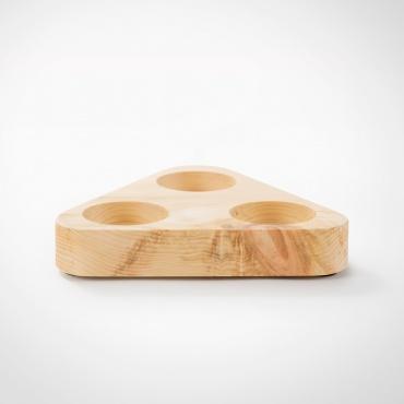 Zirbenboard 3-Eck für Design Premium