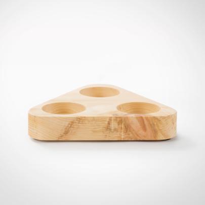 Zirbenboard 3eck - für Design Premium Mühlen