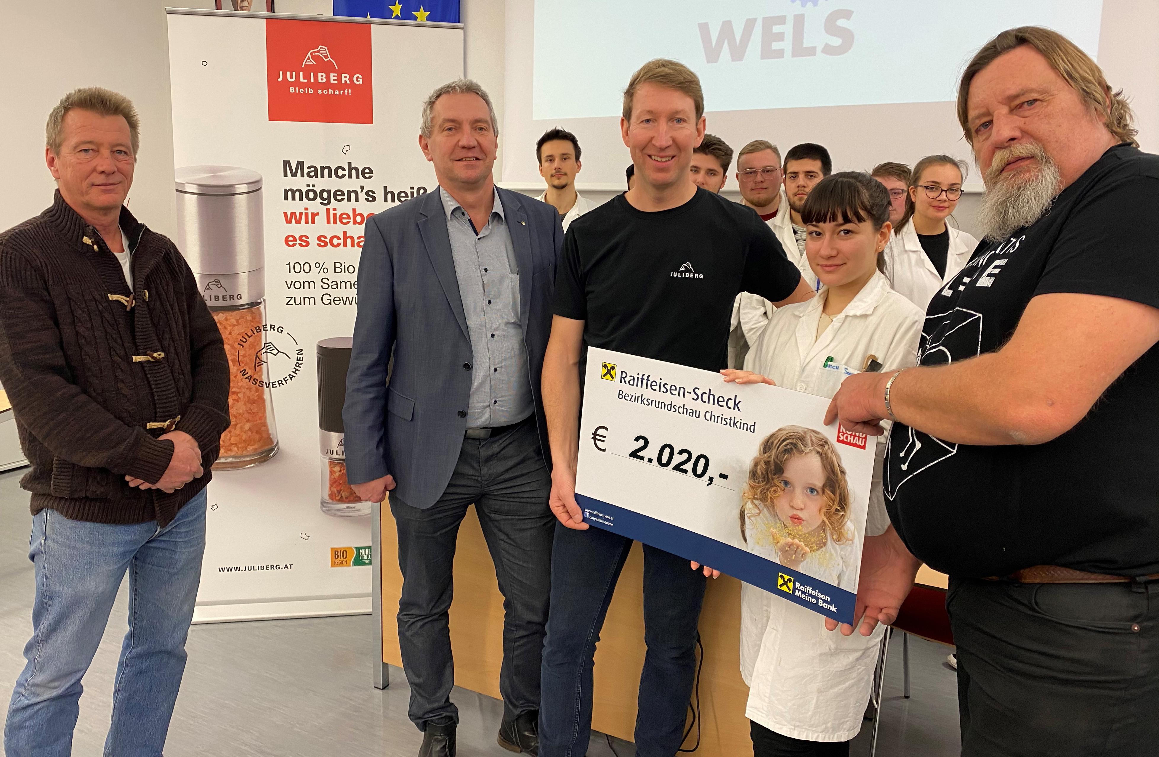 JULIBERG Christkind spendet für Oskar aus Stadl Paura