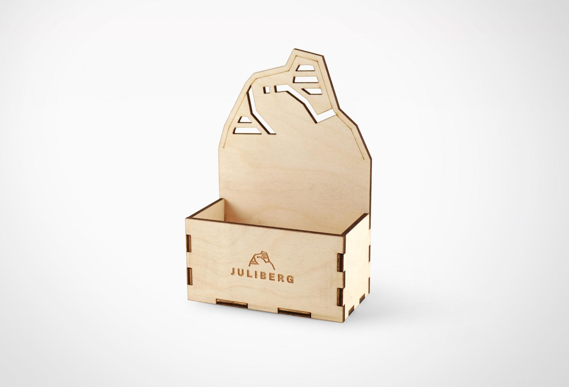Holzmenage 2 für JULIBERG Design Premium Mühlen